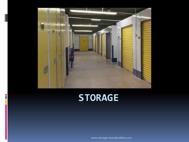 Storage<br />www.storage.incarylocalarea.com<br />