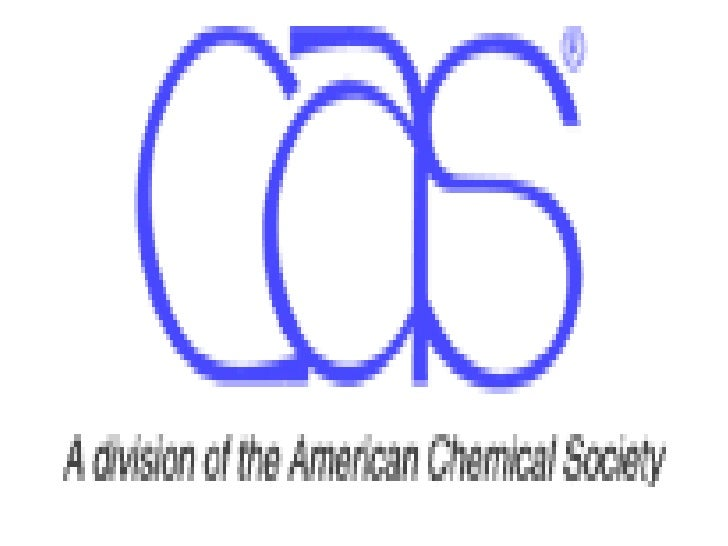 INTRODUCTION      CAS, the global leader in chemical information,      and a division of the American Chemical Society,  ...
