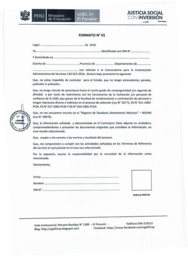 Declaracion jurada del ministerio de educacion 2016 for Convocatoria docentes 2016 ministerio de educacion