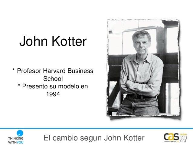 CAS2013 - ThinkingWithYou - El cambio según John Kotter Slide 2