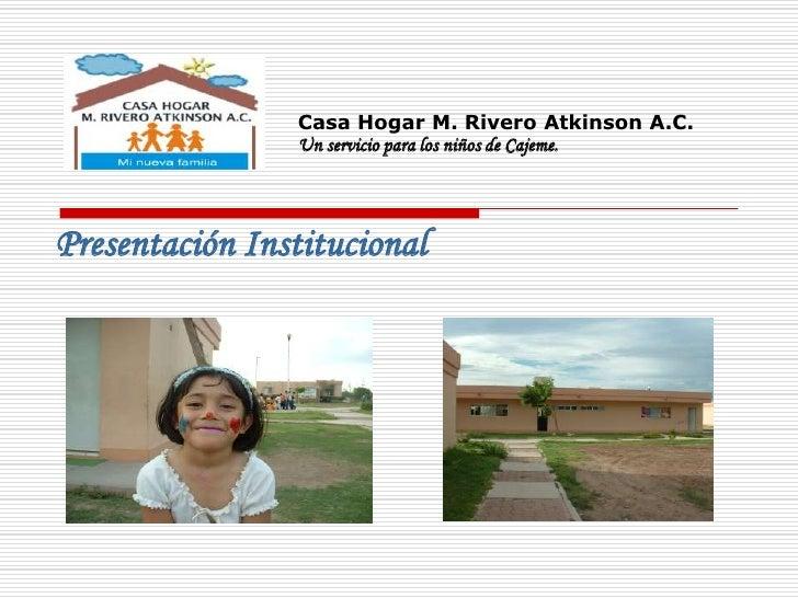 Casa hogar for Asilo de ancianos pdf