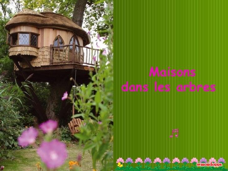 Maisons  dans les arbres