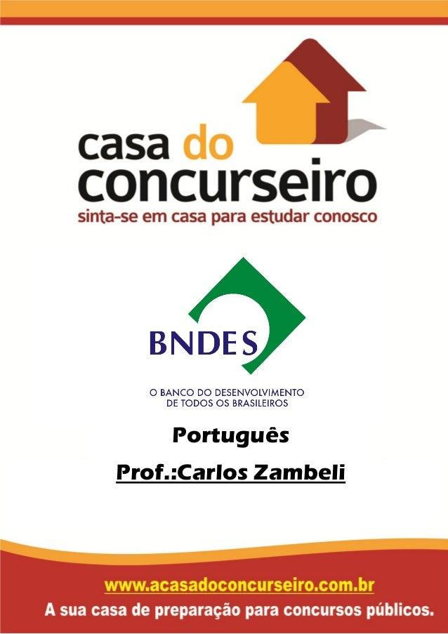 Português Prof.:Carlos Zambeli