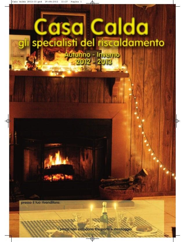 Casa calda 2012-13.qxd   29-08-2012   11:27   Pagina 1