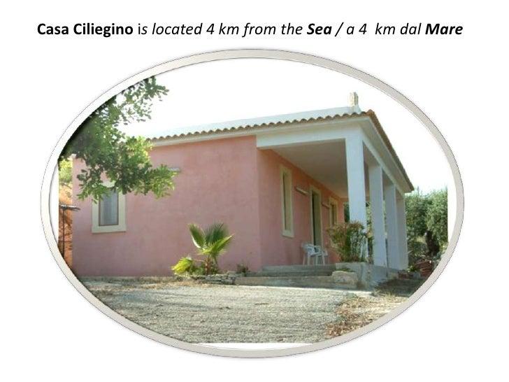 Casa Cilieginois located 4 km from the Sea / a 4  km dalMare<br />