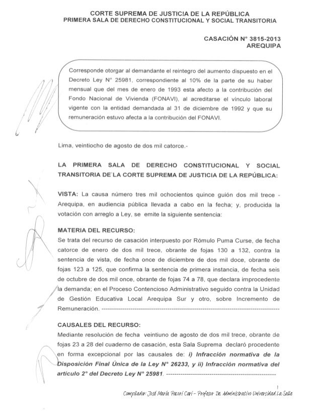 Compilador: José María Pacori Cari - Profesor De. Administrativo Universidad La Salle