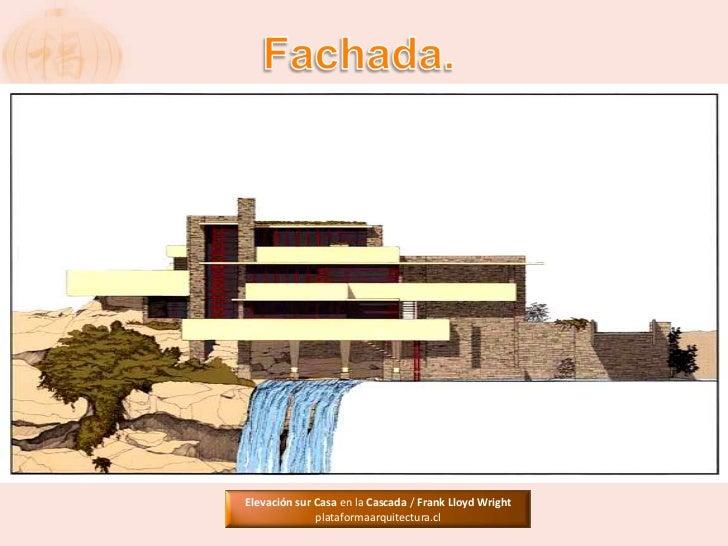 Casa de la cascada de frank lloyd wright for Frank lloyd wright piani casa della prateria