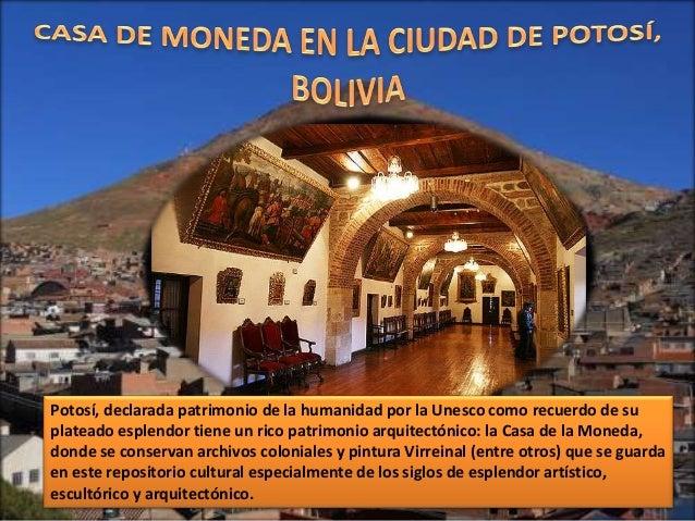Casa de moneda potos bolivia - Casa de la moneda empleo ...