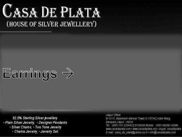CDP-ER2013027 Earring CDP-ER2013028 Earring  Item:- Earring  Stone:- Labradorite  Metal :- Silver  Item:- Earring  Stone:-...