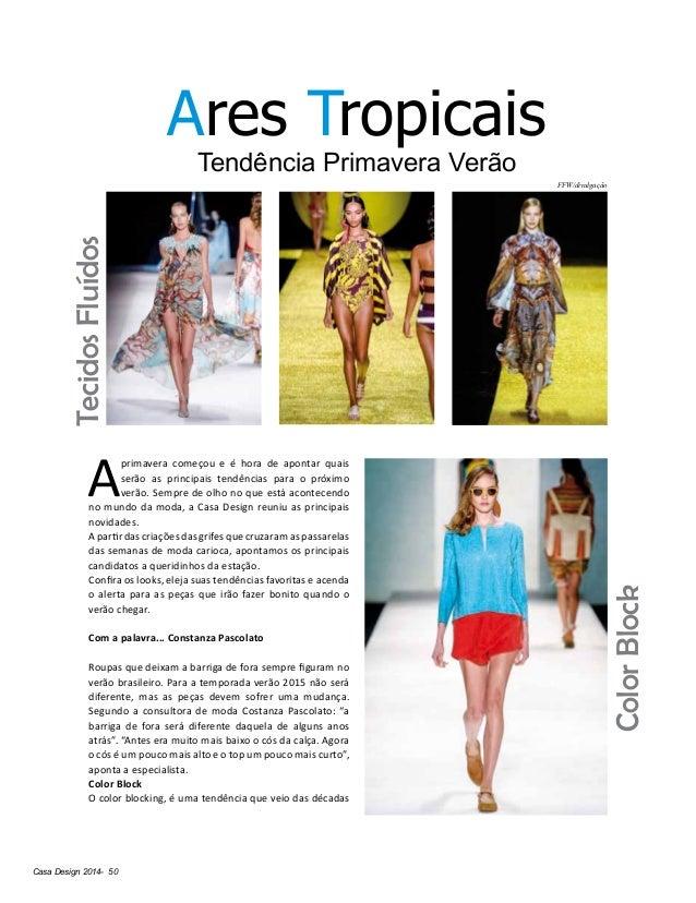 Casa Design 2014- 50 Ares Tropicais Tendência Primavera Verão A primavera começou e é hora de apontar quais serão as princ...