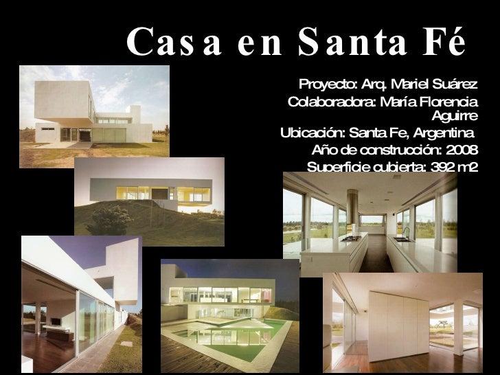 Casa en santa f for Casas de diseno santa fe