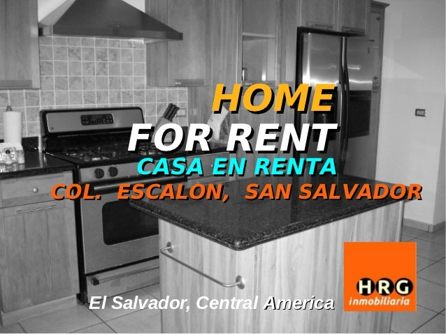 HOME      FOR RENT       CASA EN RENTACOL. ESCALON, SAN SALVADOR  El Salvador, Central America
