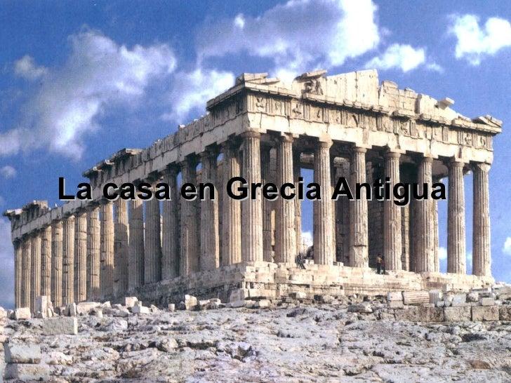 La casa griega for Casa clasica procrear 1 dormitorio