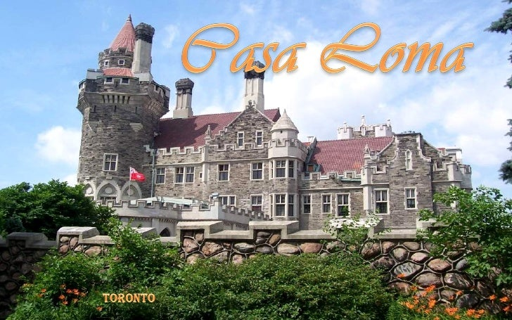 Casa Loma (Spanish for Hill House) is a Gothic Revival style house and gardens inmidtown Toronto, Ontario, Canada, that is...