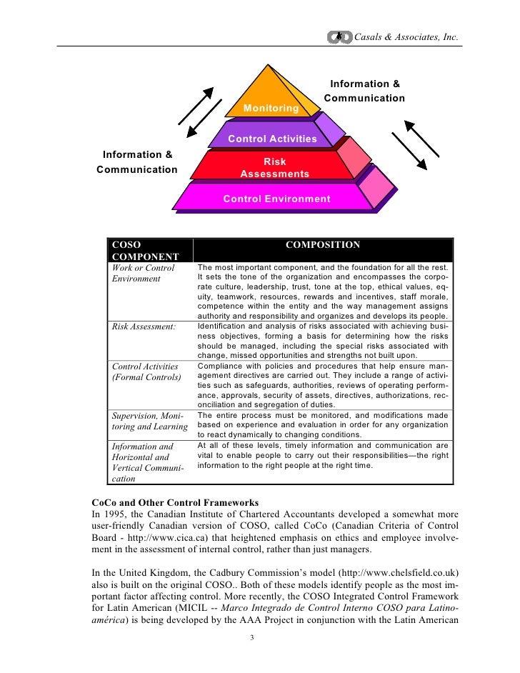 risk control self assessment pdf