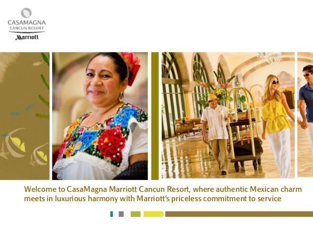 Welcome to CasaMagna Marriott Cancun Resort, where authentic Mexican charmmeets in luxurious harmony with Marriott's price...