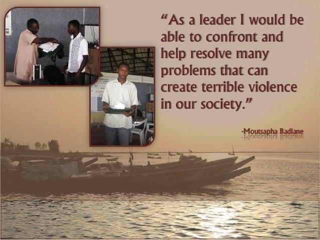 Student Reflections: Senegal Slide 3