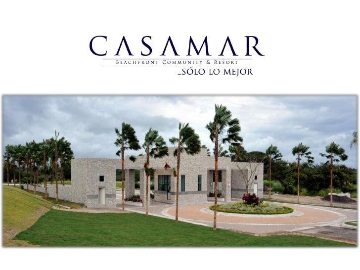 Desarrollado en un terreno de 77 hectáreas a sólo 60 minutos de laciudad de Panamá, CASAMAR es un exclusivo proyecto que c...