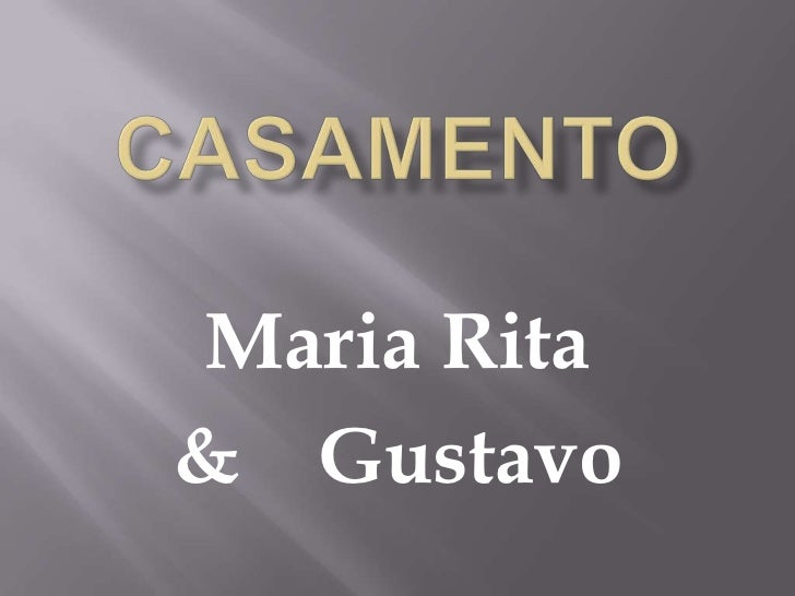 Maria Rita& Gustavo