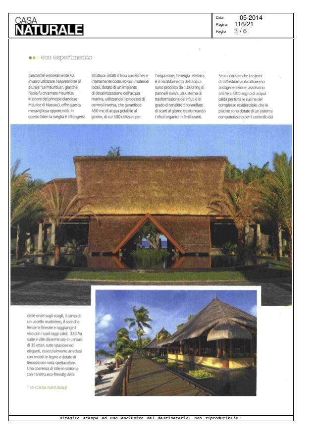 Lusso In Verde Un Ecoresort Nell Isola Di Mauritius