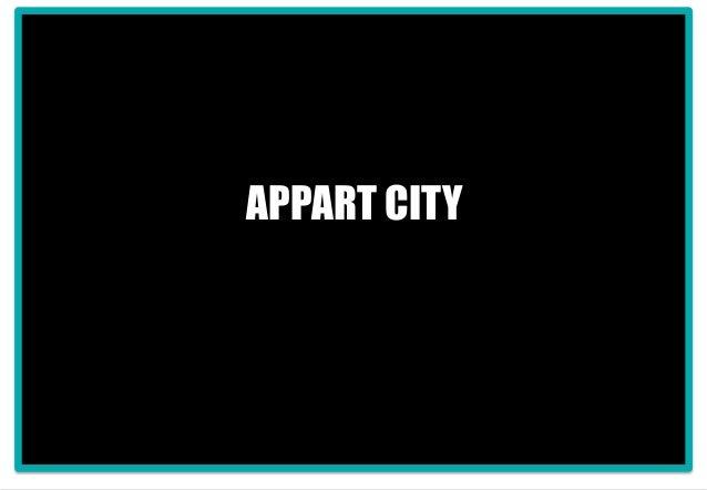 1 APPART CITY