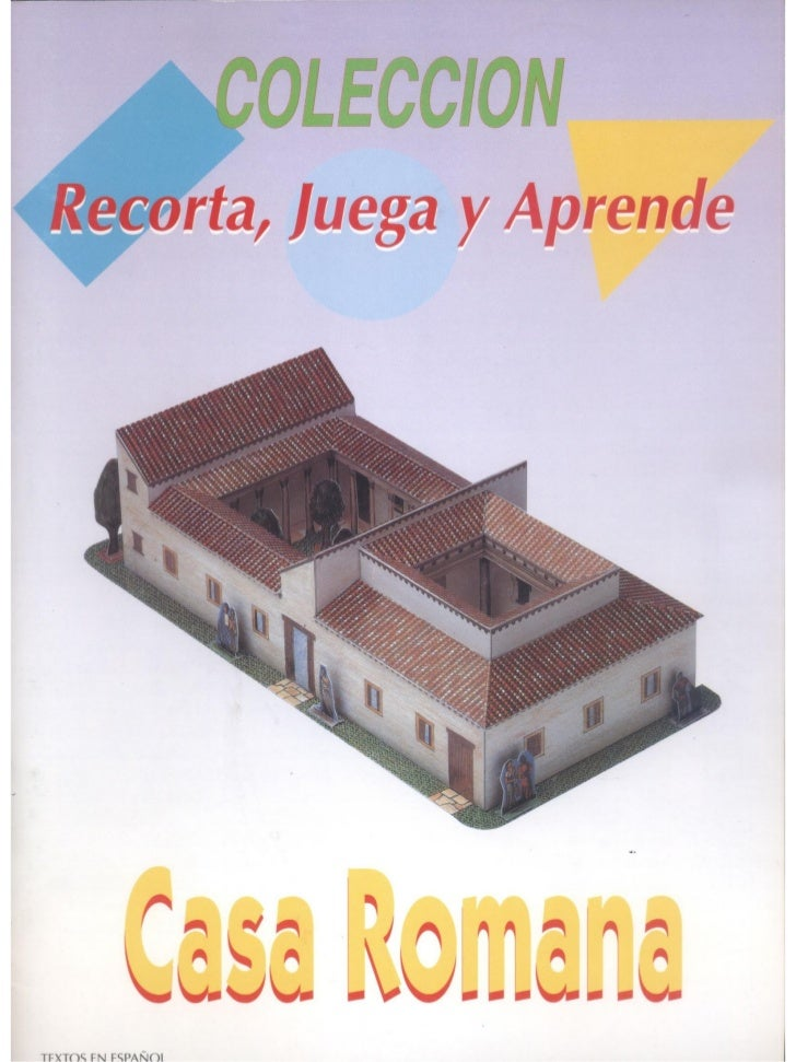 Casa romana recortable