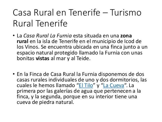 Casa rural en tenerife - Casa rural icod de los vinos ...
