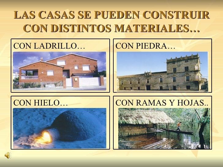 Casas del mundo - Casas de materiales ...