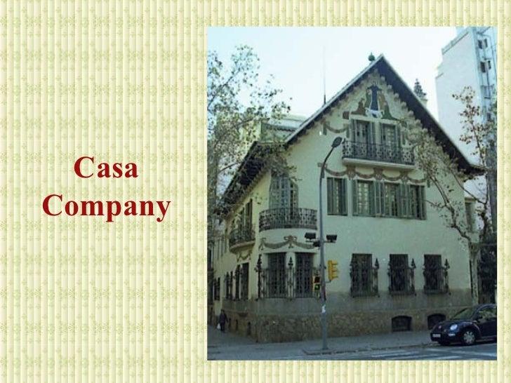 Casas modernistas - Casa vives gaudi ...