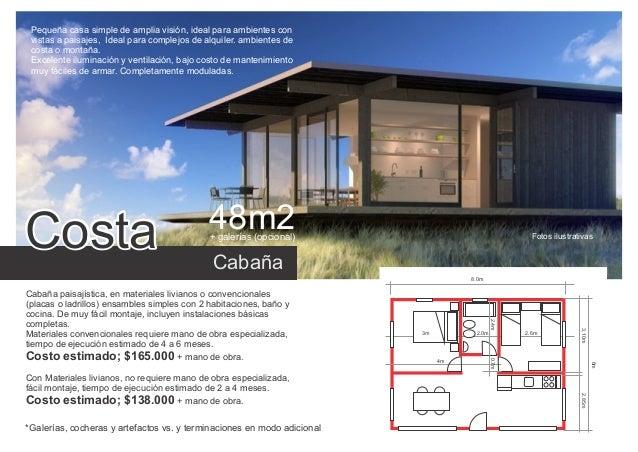 Casas economicas 02 caba as y casas 1 a for Casas de campo economicas
