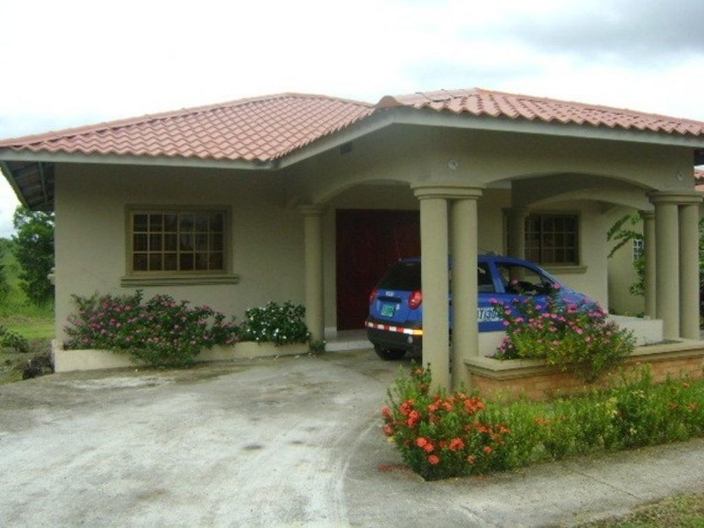 Casas modelo for Modelos de techos metalicos para casas