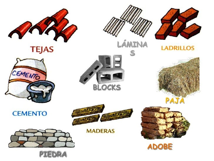 casas y materiales de construcci n On materiales para construccion de casas