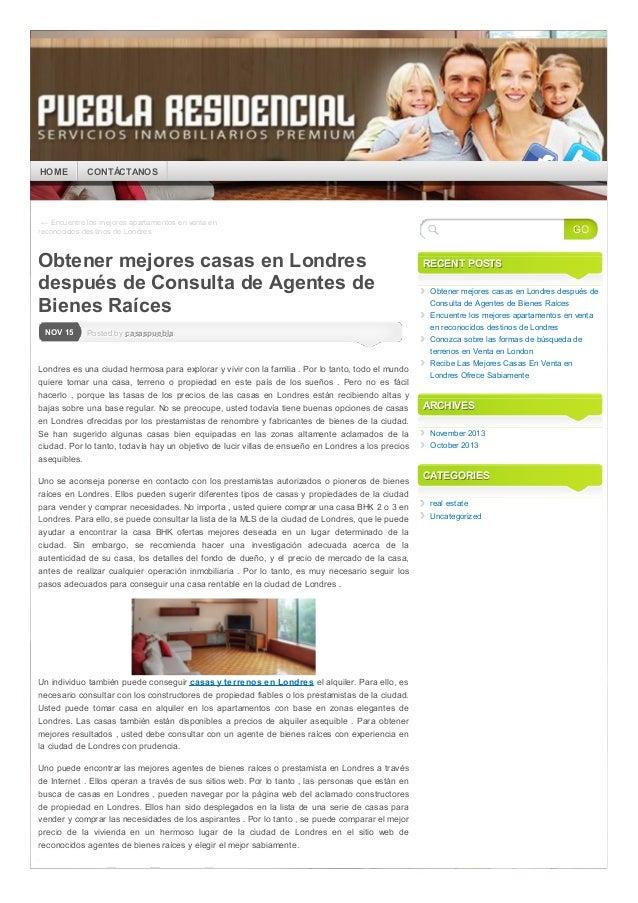 HOME  CONTÁCTANOS  ← Encuentre los mejores apartamentos en venta en reconocidos destinos de Londres  Obtener mejores casas...