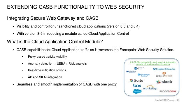 CASB: Securing your cloud applications