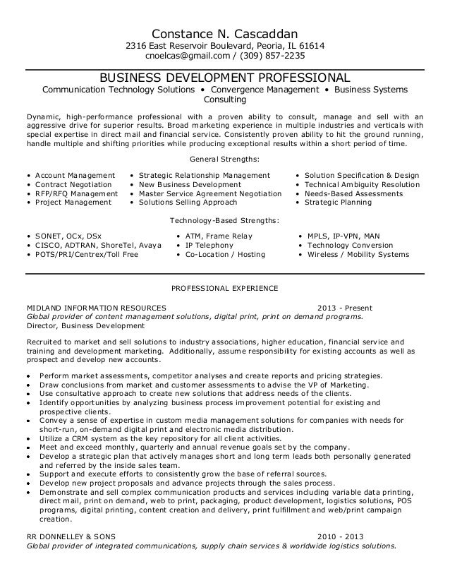 client relationship manager resumes