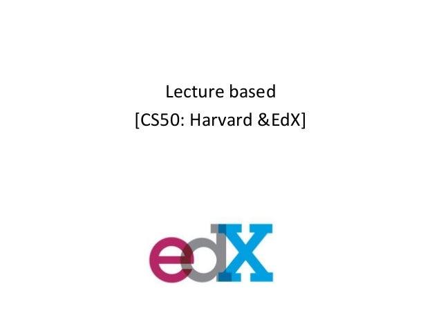 CAS/CADE presentation 2013
