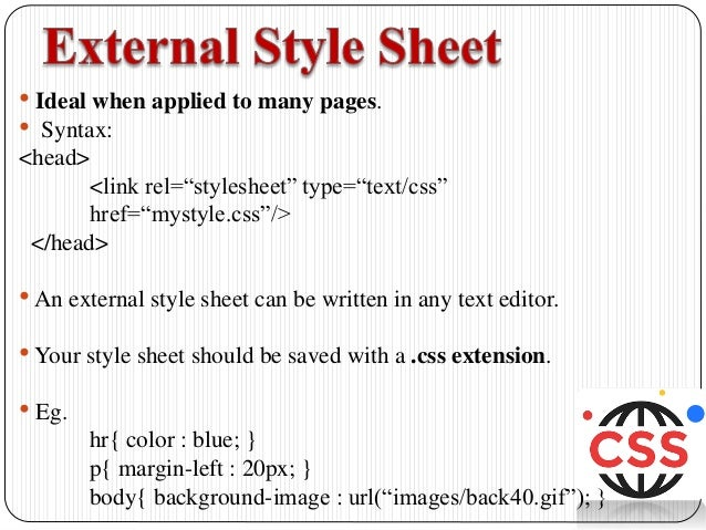 CSS Styles and Colors