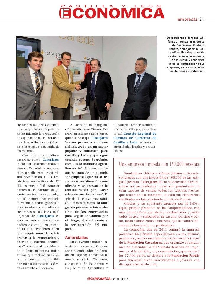 Cascajares en Castilla y León Económica Slide 2