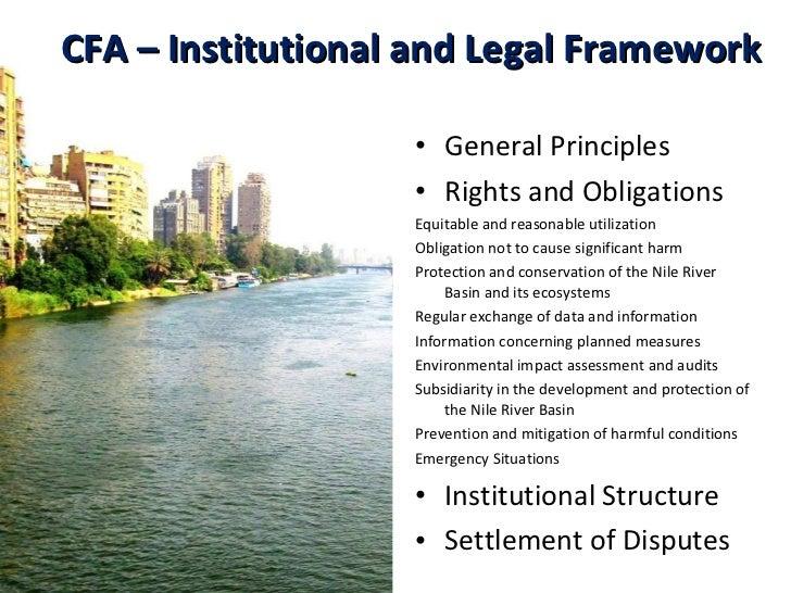 <ul><li>General Principles </li></ul><ul><li>Rights and Obligations  </li></ul><ul><li>Equitable and reasonable utilizatio...