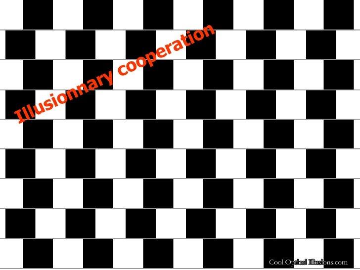 Illusionnary cooperation