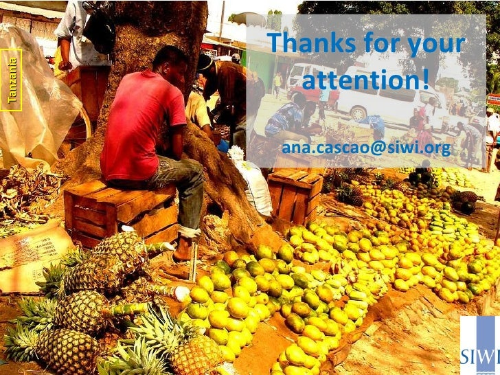 Thanks for your attention! [email_address] Tanzania