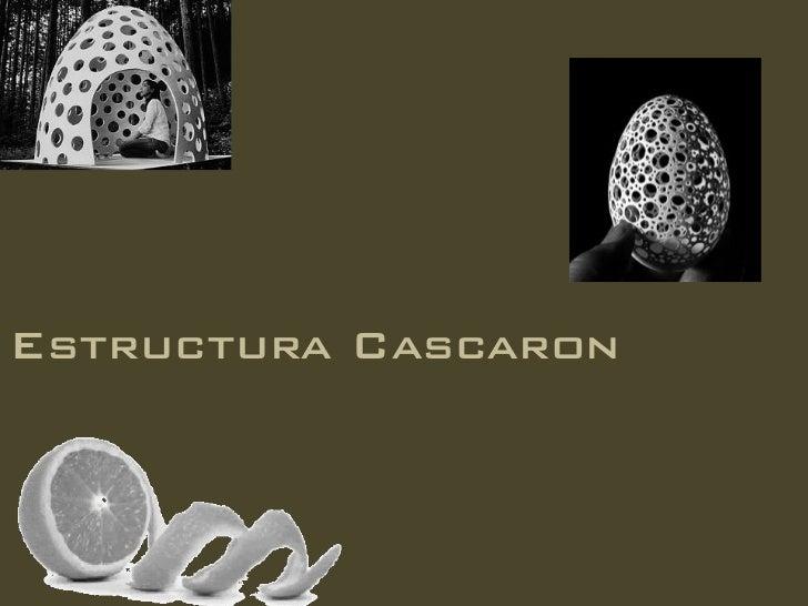Estructura Cascaron