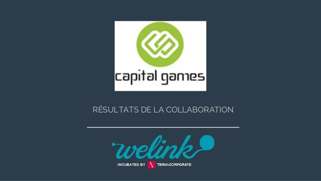RÉSULTATS DE LA COLLABORATION
