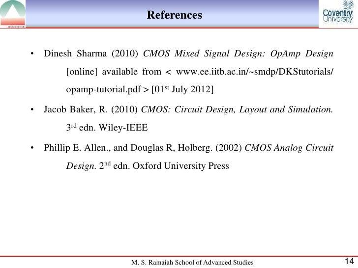 Seminar on Cascode amplifier