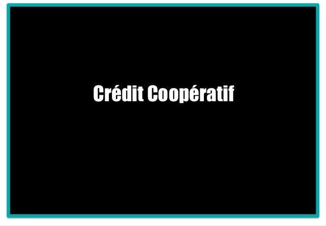 1 Crédit Coopératif
