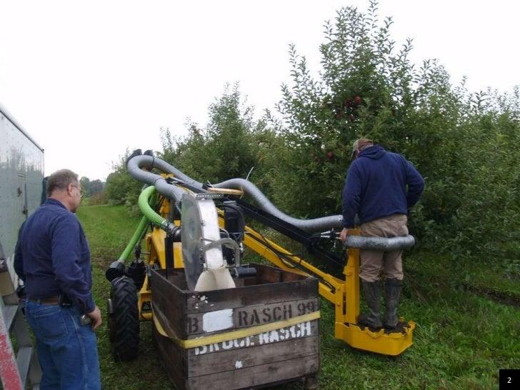 Vacuum Apple Harvester