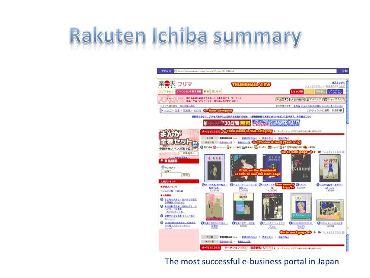 The most successful e-business portal in Japan