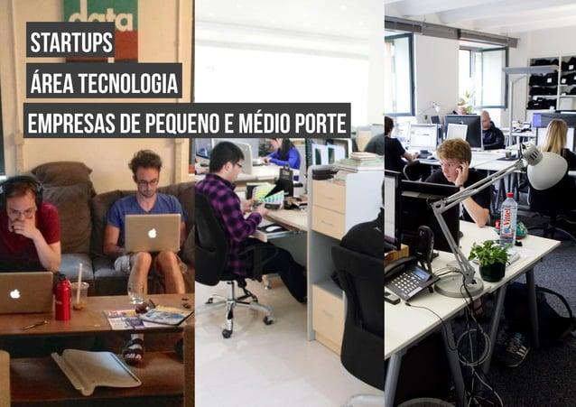 startups área tecnologia empresas de pequeno e médio porte