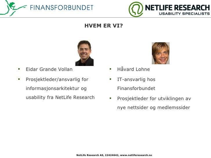 Case - Finansforbundet.no Slide 2