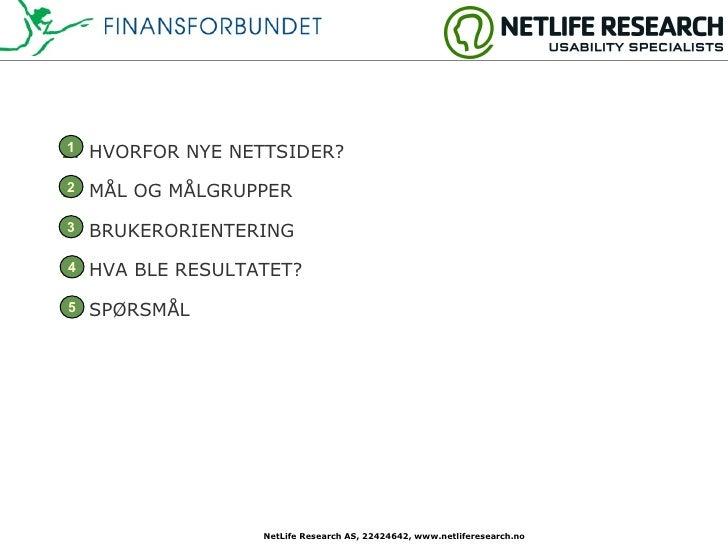 Case - Finansforbundet.no Slide 3